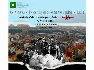 Antalya'da Kentleşme, Göç ve Deprem